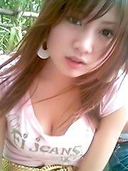 Collection of self shot Thai women