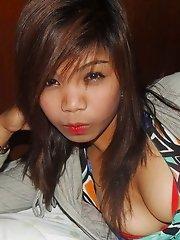 Wild Asian bargirl regularly fornicates with random johns