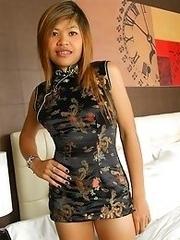 Horny Thai Slut Nok Drilled