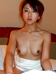 Getting in her nice panties