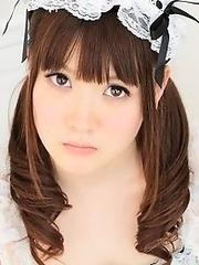 Busty japanese maid Airi Hayasaka