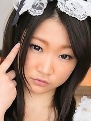 Japan maid RurikoTeine