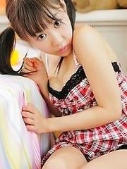 Busty japan babe Erina Suenaga