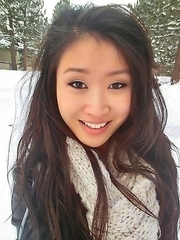 Asian babes posing for their boyfriends