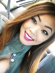Self-shooting Asian babes in sexy clothes