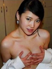 Sexy amateur Asian babes
